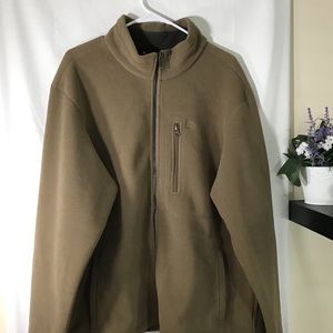 Timberland Tan Fleece Jacket Size XL